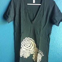 American Apparel Chloe Summer Shirt Size Small & Tote Photo
