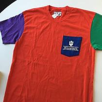 American Apparel Color Block Iu Hoosiers Shirt Photo