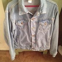 American Apparel Jean Jacket Size L Not Margiela Not Supreme No Bape Not Balmain Photo