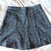 American Apparel Lulu Grid Skirt S Photo