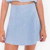 American Apparel Lulu Skirt Denim Xs Photo
