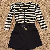 American Apparel Nasty Gal Striped Crop Top Forever 21 Unif Photo