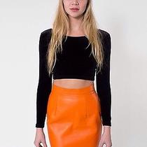 American Apparel Zara h&m Forever 21 Leather Skirt Nwt Photo