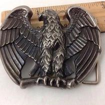 American Bald Eagle Avon Vintage Belt Buckle Photo