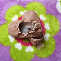 American Ballet Theatre Abt Pink Blush Leather Toddler Girls Sz 9 Shoes Photo