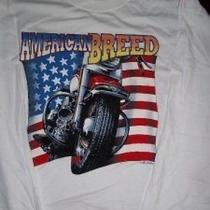American Breed Motorcycle Long Sleeve Shirt Xl Photo