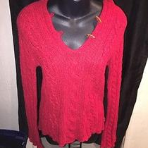 American Eagle 100% Lamb Wool Hooded Sweater  Size M Photo