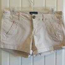 American Eagle Ae Women's Stretch Blush Pink Shorts Sz 4 Excellent Photo