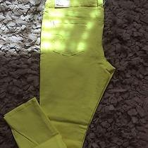 American Eagle Aeropostale Outfitters Neon Zara Hollister Skinny Stretch Jeans  Photo