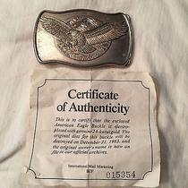 American Eagle Belt Buckle Photo