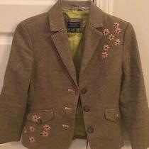 American Eagle Blazer With Flowers Size Xs Photo