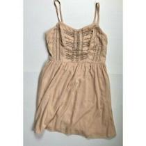 American Eagle Blush Dress With Beaded Detailing Women's Size 0 Photo