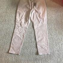 American Eagle Blush Iridescent Streach Jeggings Regular 18 New With Tags Photo