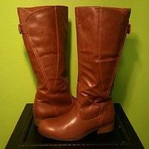American Eagle Cognac Knee High Boots Photo