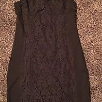 American Eagle Dress Size 6 Black Sexy Lace Photo