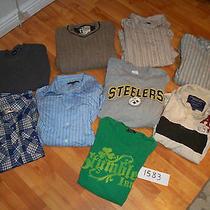 American Eaglegapaeropostalesteelers Guys Mens Large Clothing Lot 1583 Photo