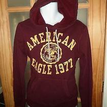American Eagle Graphic Hoodie Sweatshirt Sz Xs Photo