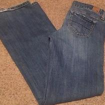 American Eagle Jeans Size 8 Long Boyfriend Cut... Excellent Condition Photo