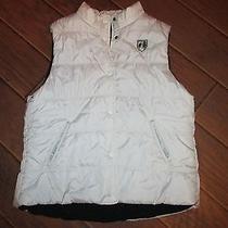 American Eagle Juniors  White Vest Size Xl Photo