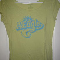 American Eagle Lime Green Aqua Logo Small Photo