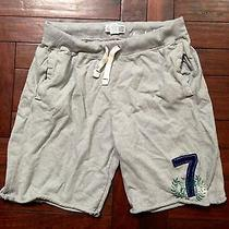 American Eagle Men's Sweatshorts - Small // Gray - J Crew Gap Lululemon Photo