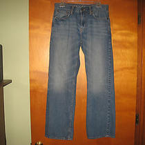 American Eagle Mens Jeans 30 / 30 Bootcut Medium Vintage Wash  Photo