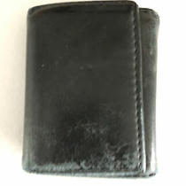American Eagle Mens Navy Blue Leather Wallet Photo