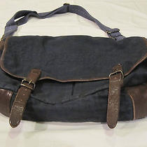 American Eagle Messenger Bag With Leather Photo