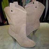 American Eagle Natural Suede Graduate Boot Size 10m  Photo