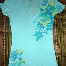 American Eagle Outfitters Aqua Blue T-Shirt Top Size Xs Photo