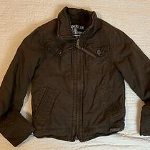 American Eagle Outfitters Brown Jacket Women Size Xs Zip Up Long Sleeve Casual Photo