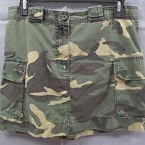 American Eagle Outfitters Camo Skirt Size 4 Photo