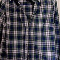 American Eagle Outfitters Campbell Tartan Plaid Shirt Sz. 10 Euc Button Down Photo