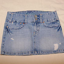 American Eagle Outfitters Denim Mini Skirt (0) Photo