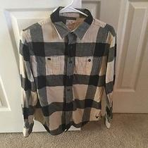 American Eagle Outfitters Flannel Heritage Plaid Size Small Photo