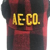American Eagle Outfitters  Flannel Snapback Hat Ballcap  Mesh Trucker Ae Co Photo