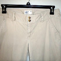 American Eagle Outfitters Khaki  Pants - Boot Cut Size 8    Photo