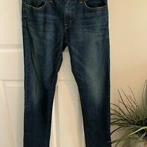 American Eagle Outfitters Men's 32 X 36 Medium Wash Skinny Fit Blue Jeans New Photo