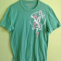 American Eagle Outfitters Men's Green Tshirt Size M Photo