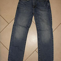 American Eagle Outfitters Size 28 X 30 Mens Medium Wash Relaxed Slim Fit Euc Photo