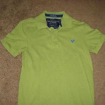 American Eagle Outfitters the Eagle Polo Vintage Green Size Xs Men Nice Photo