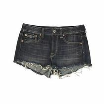 American Eagle Outfitters Women Blue Denim Shorts 10 Photo