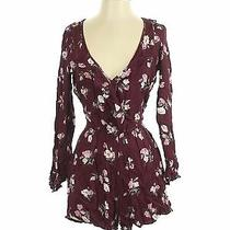 American Eagle Outfitters Women Red Romper Xs Photo