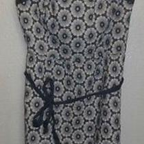 American Eagle Outfitters Women's Blue Sundress Us Size 6 Floral Halter Photo
