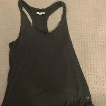 American Eagle Outfitters Women's Junior Charcoal  Boyfriend Tank Size Xs Photo
