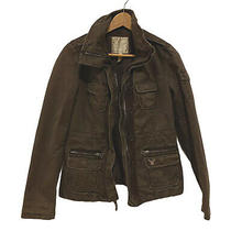 American Eagle Outfitters Women's Size Small Brown Military Army Style Jacket  Photo