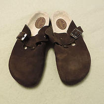 American Eagle Outfitters Womens Croc Shoes Size 8 Dark Brown Photo