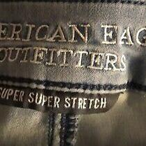 American Eagle Outfitters Womens Jean Super Stretch Extreme Leggings Size00 Photo