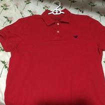American Eagle Red Polo Size M Photo