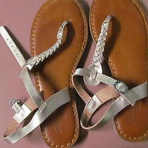 American Eagle Rosegold Sandals Womens Size 6 Photo